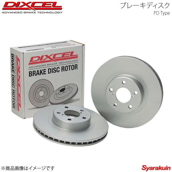 DIXCEL/ディクセル ブレーキディスク PD フロント BMW 1シリーズ 118i F20(1A16/1R15) 15/05〜 Option M SPORTS BRAKE プレーンタイプ PD1214741S画像