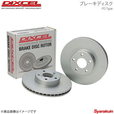 DIXCEL/ディクセル ブレーキディスク PD フロント Mercedes Benz SLK SLK55 AMG R171(171473) 08/05〜11/05 Fr:4POT/Rr:2POT PD1121270S
