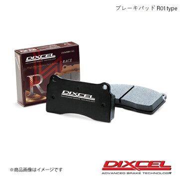 DIXCEL ディクセル ブレーキパッド R01 リア Alfa Romeo 156 SPORT WAGON 932B2 00/04〜01/12