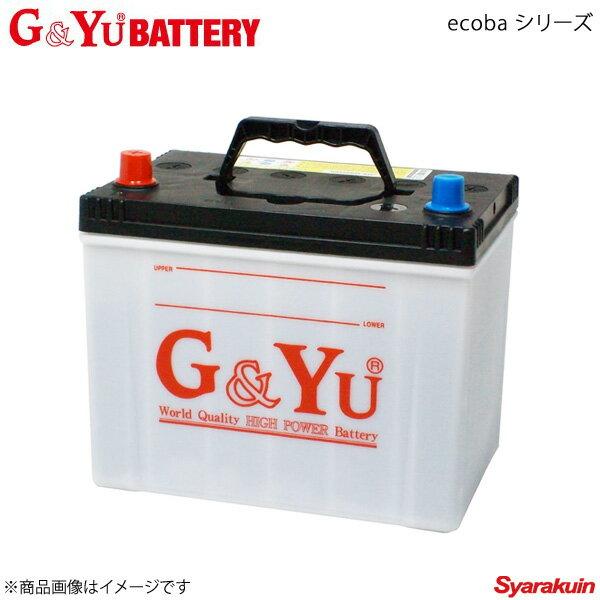 バッテリー, バッテリー本体 GYu BATTERYGYu ecoba ABA-V77W 051106 :75D23L :ecb-80D23L1