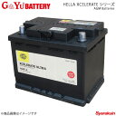G&Yuバッテリー HELLA XCELERATE Ultra シリーズ AGM Batteries FIAT/フィアット パンダ91 1100i.e. セレクタ E-141AKA 95.01-03.09 品番:AGM-L2×1
