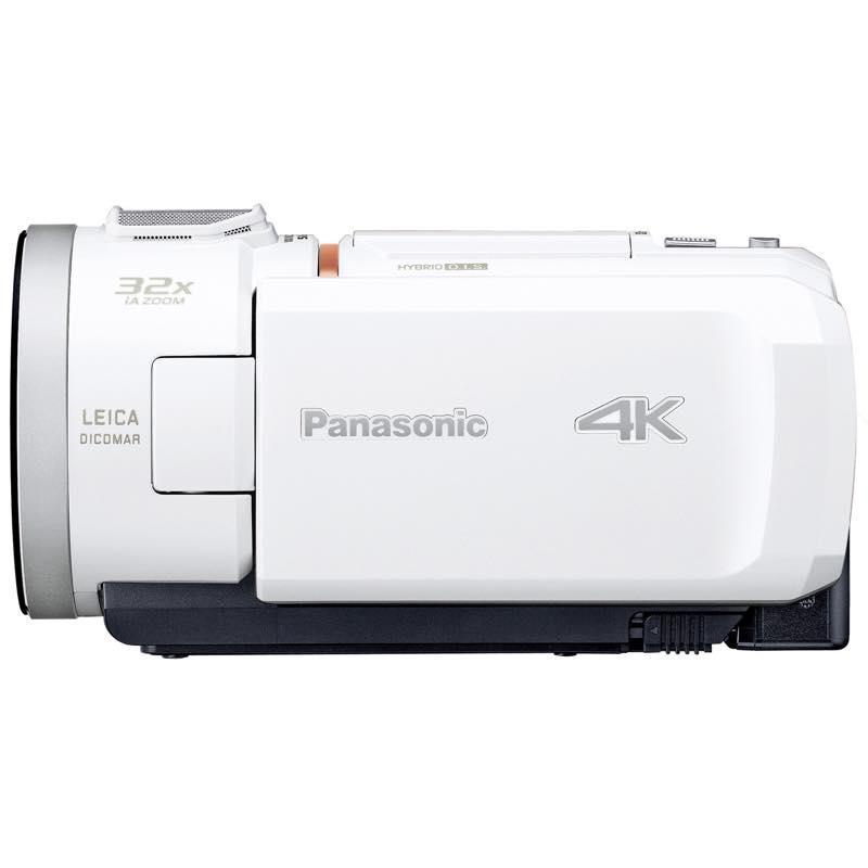 HC-VX1M-W ◆ パナソニック ホワイト 広角25mm 4K Wi-Fi対応 ビデオカメラ
