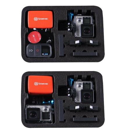 【SYHBrand】GOPROHERO2、HERO3、HERO3+対応カメラケースバッグブラック