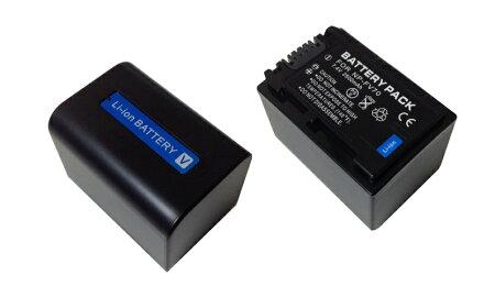 【SONY】ソニーNP-FV70/NP-FV70/5互換バッテリー+USB充電器セット