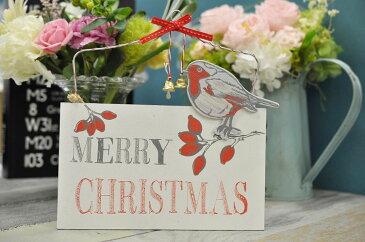 メリークリスマスプレート ドアプレート ウェルカムプレート ドアボード 玄関  ガーデン