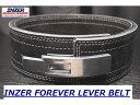 INZER(インザー)レバー アクション ベルト 筋トレ用トレーニングベルト パワー リフティング ベルト 13mm