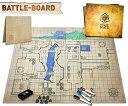 ボードゲーム The Original Battle Grid Game Mat - 70cm x 60cm - Dungeons and Dragons - Dry Erase Square & Hex Grids - RPG Miniatures Map - DnD 5th Edition Table Top Dice Set - Wizard of the Coast Starter & Master