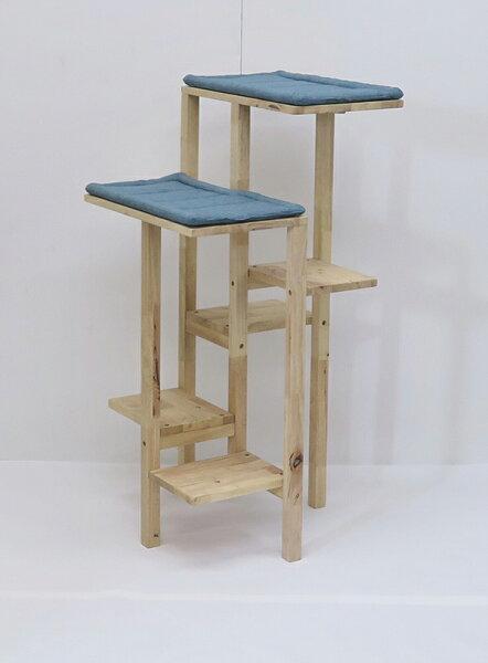 キャットタワー据え置きコンパクト木製猫タワーネコタワー室内用おしゃれ