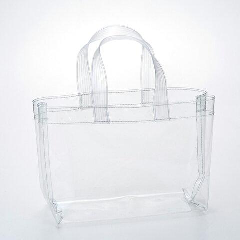 送料無料 透明ビニールバッグ 100枚入り 大容量 トートバッグ ビニールバッグ スケルトン ビーチバッグ セキュリティバッグ プール アウトドア レディース 痛バッグ