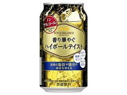 アサヒ スタイルバランス ハイボールテイスト 缶 350ml x24 *