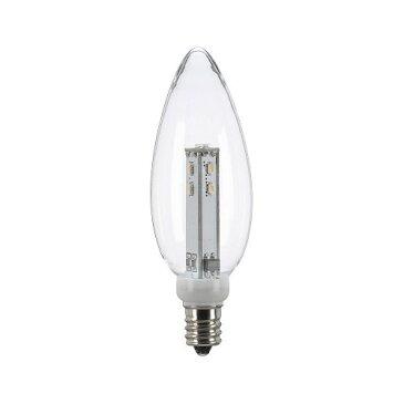 C32形LEDランプ 電球色 E12 クリア LDC1LG32E123(1コ入)
