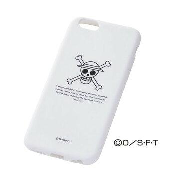レイ・アウト iPhone6 ワンピース・シリコンジャケット/ルフィ RT-OP7A/LF(1コ入)