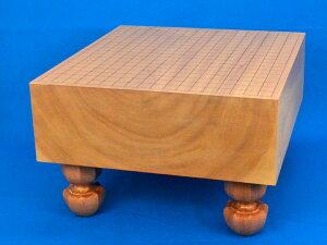 囲碁盤 本桂5寸足付碁盤