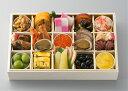 商品画像:京菜味のむら 楽天市場店の人気おせち2018楽天、一乃松 和風おせち 冷凍一段重 約2人前 22品目 送料込