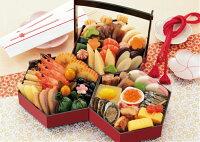 京菜味のむら「八坂(やさか)」冷凍三段重約2人前32品目送料無料