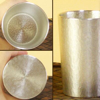 大阪錫器 シルキー タンブラー ストレート ビアカップ 錫製品 酒器母の日父の日 退職祝 還暦祝