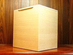 桐箪笥(たんす)の職人がこだわって作った米びつ無地20kg用
