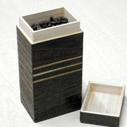 桐のコーヒー豆入れ日本製珈琲豆