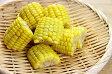 東亜食品)半割カットコーン 600g(20個入)(自然素材,野菜,とうもろこし)