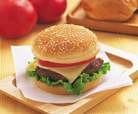 バーガー用パン 約50g×6個入 20362(軽食 朝食 ばんず バンズ バーガー バンズ レンジ)