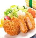 お惣菜 えびカツ 2.4kg (40g×60個入) (ケース) 12691(ケース販売 ハート型 塩田放流バナメイエビ 業務用 洋食 えび 冷凍) 1