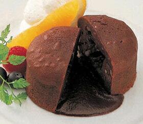 味の素)プチ・フォンダンショコラ 約50g×6個入(冷凍食品 人気商品 濃厚ガナッシュ 業務用食材 冷凍 洋菓子 ケーキ)