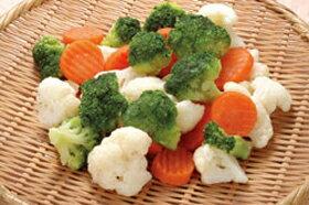 洋風野菜ミックス 500g 108203(ミックス野菜 パーティ食材 原材料 ブロッコリー カリフラワー 人参 グループホーム 施設 ケアハウス 冷凍野菜)