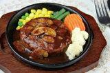アクト)マッシュデミソースハンバーグ130g(冷凍食品 高級感 焼目入り 業務用食材 ハンバーグ 肉料理 洋食)