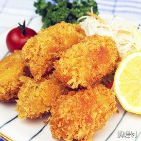 マツワ商事)韓国産カキフライ 約25g×20粒(業務用食材 カキフライ 洋食 牡蠣 カキ フラ…