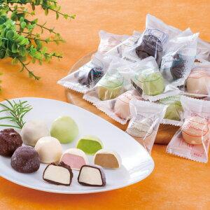 チョコアイスボール 12ml×6粒×各5種入 5956(個包装 パーティー アイスクリーム 洋菓子 スイーツ チョコレート アイス デザート 口直し ひとくちサイズ プチ ミニ おやつ お配りチョコ)