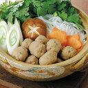 コックフーズ)紅茶鴨つくねボール500g(約50個入)(冷凍食品 煮物 鍋物 業務用食材 鶏肉 鳥肉 とり肉 とりにく 肉 食材)