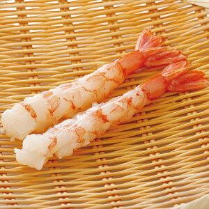 ノースイ)赤海老尾付伸ばし8L 15尾(320g)(冷凍食品 エビフライ バーベキュー 焼物 自然素材 魚介類 えび エビ)