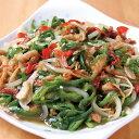 上海食品)チンジャオロースセット 490g(冷凍食品 一品 惣菜 青椒肉絲 チンジャオロウス 中華料理 中華 エスニック)