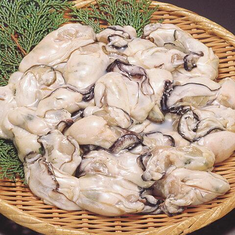 北吉水産)広島倉橋島産 冷凍かきLサイズ 1kg(冷凍食品 焼物 炒め物 カキ 牡蠣)