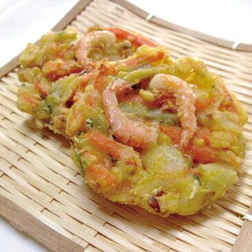 ニッスイ)野菜がおいしいえびかき揚げ 300g(約50g×6個)(冷凍食品 揚物 おつまみ かきあげ やさい 海老)