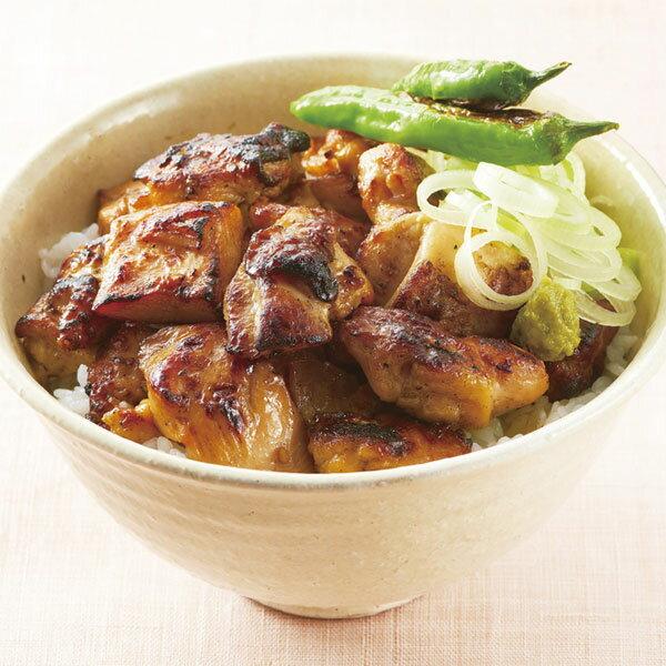 ニチレイ)炭火焼鶏ももカットIQF 500g(冷凍食品 バラ凍結 焼き鳥 一口サイズ 和風調理食品 おつまみ 肉料理)
