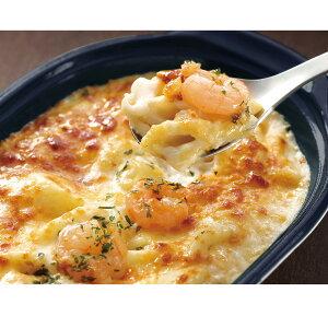 海老とチーズのグラタン 200g 22430(海老 えび 焼きもの フライ マカロニ ホワイトソース レンジ)