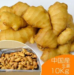 【食用】中国産黄金生姜10kg(近江生姜黄色)