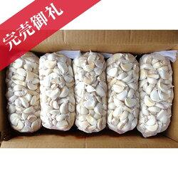 ばらしにんにく種1kg10ネット中国産上海嘉定種(ホワイト)