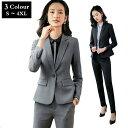 ビジネスレディース スーツ officeスーツ 2点セット セットアップ 通勤 就活 事務服 オフィス 卒業式 長袖