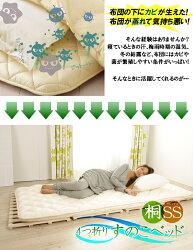 4つ折りすのこベッドセミシングルランキング入賞!楽天最安値に挑戦中【送料無料】【RCP】