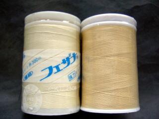 フェザナミシン糸極細 29、35             極細ミシン糸