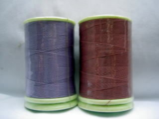 フェザナミシン糸 #50 174、206 紫系       50番手ミシン糸