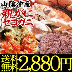 限定の貴重な蟹!!松葉がにのメスセコガニ(親がに・勢子がに)【訳あり】[生]1kgセット(5-8枚程...