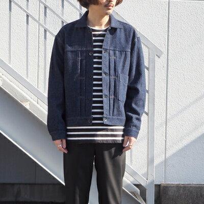 【KURO:クロ】962020LOOSEDENIMBIGJACKET【smtb-TK】