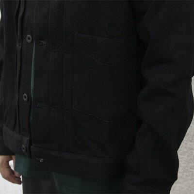 【KURO:クロ】962878LOOSEDENIMJACKETBLACK【smtb-TK】