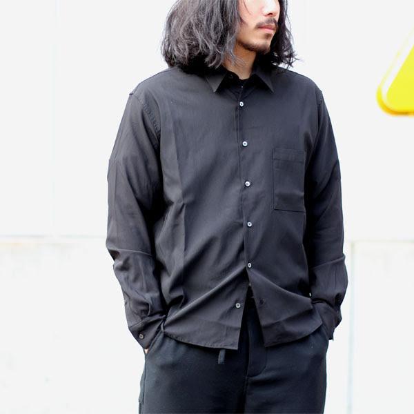 【LAMOND:ラモンド】LM-S-020BACKSATINSHIRT【smtb-TK】
