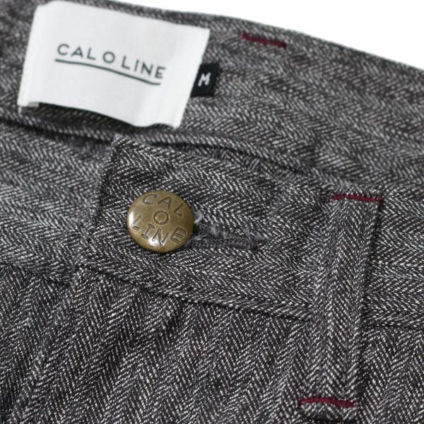 【CALOLINE:キャロライン】CL182-092BLACKHEATHERBARRELPAINTERPANTS【smtb-TK】