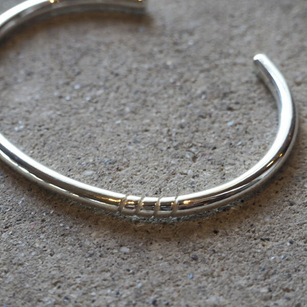 【ACEbymorizane:エースバイモリザネ】AG950301FOURSPIRALBANGLE【smtb-TK】
