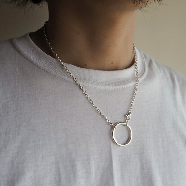 【ACEbymorizane:エースバイモリザネ】AG920503CIRCLEONNECKLACE【smtb-TK】